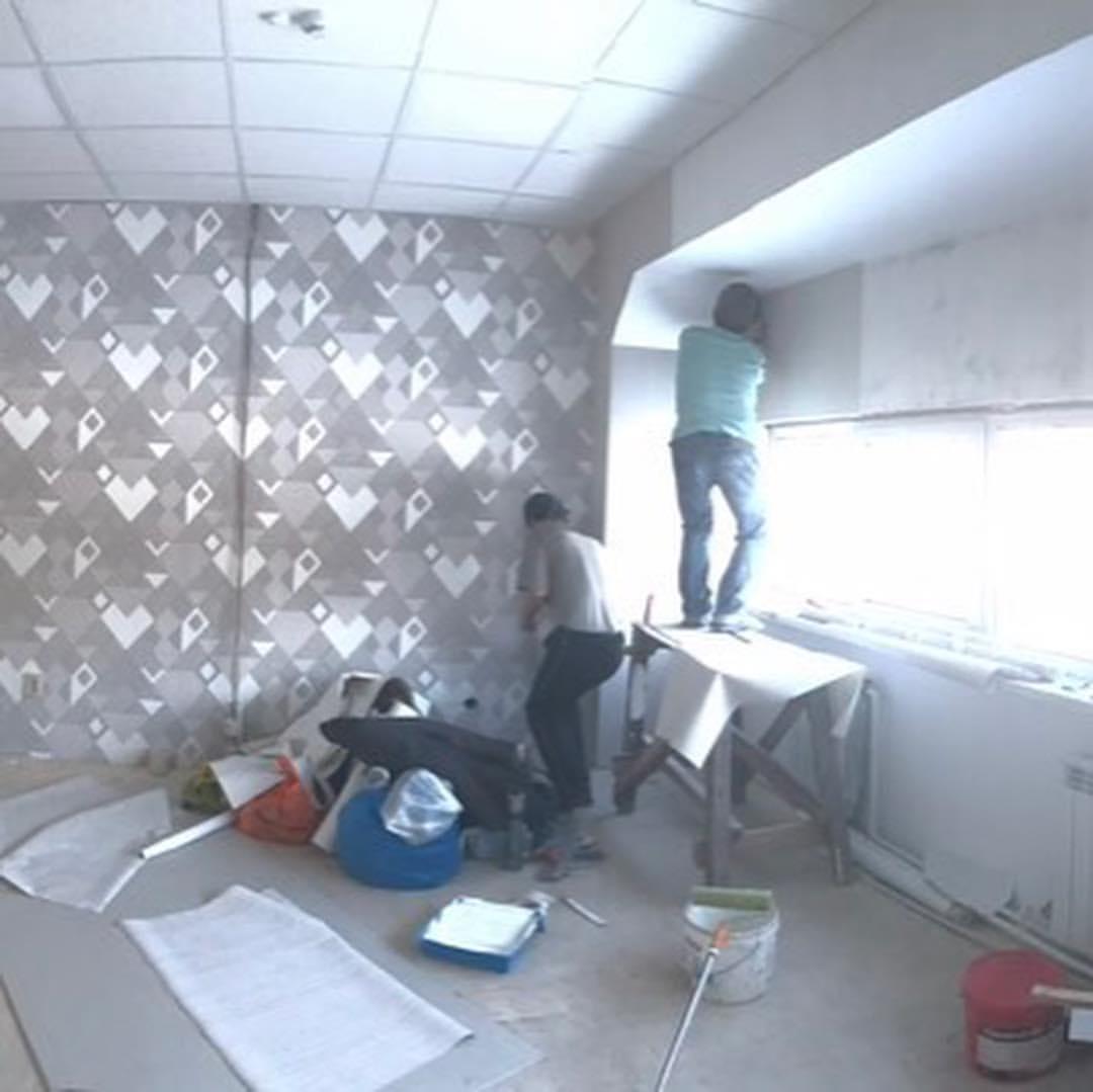 Заканчиваем ремонт в помещении нового офиса по адресу Гаражная, 3.